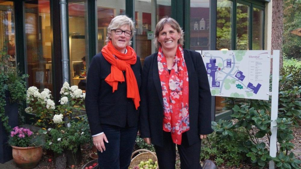 MdB Hiltrud Lotze und Christine Hamester-Koch
